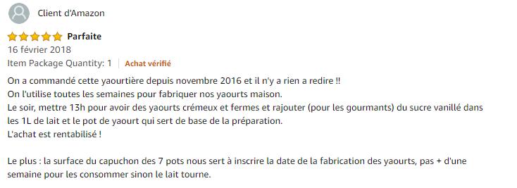 yaourtière Lagrange 439101