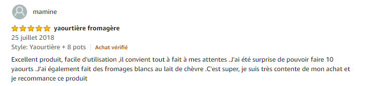 yaourtière fromagère Cuisinart Ym400e